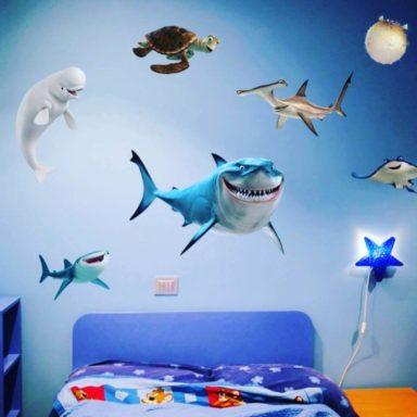 stickers-wallstickers-personalizzati-moode-roma-pesci
