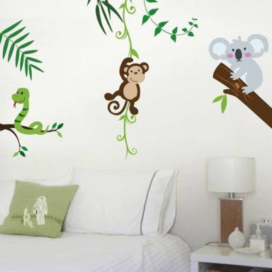stickers-wallstickers-personalizzati-moode-roma-scimmietta