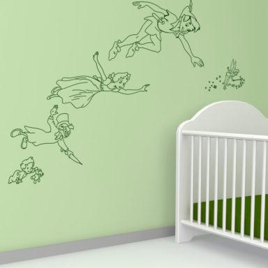 peterpan-adesivi-vetrofani-decorazionivetrina-negozio-pubblicita-promozioni-stickers-wallstickers-personalizzati-roma_frozen-elsa-carette-adesivicamerette-bambini-kids